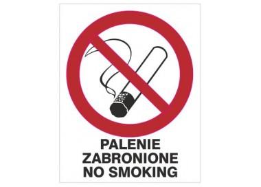 Palenie zabronione no smoking (209-12)