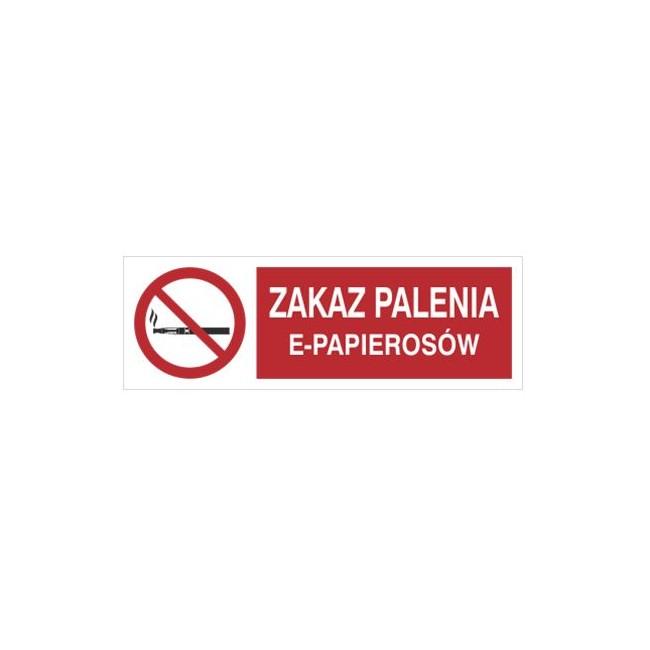 Zakaz palenia e-papierosów (209-15)