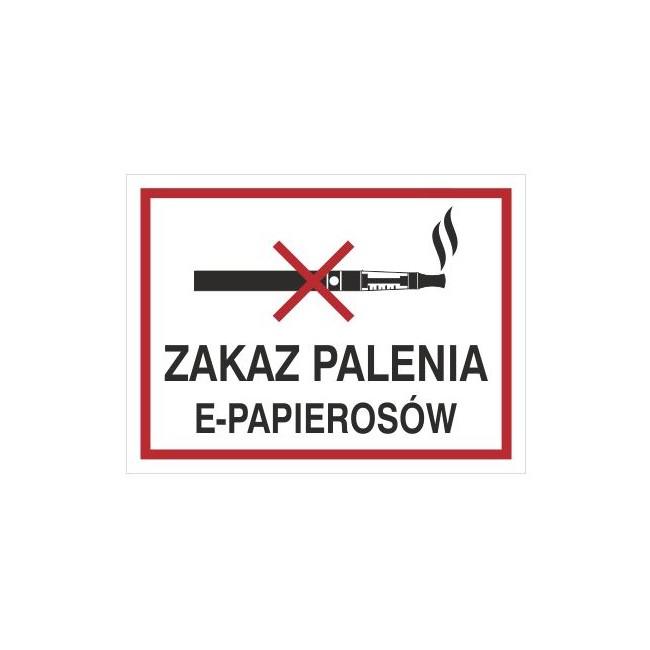 Zakaz palenia e-papierosów (209-19)