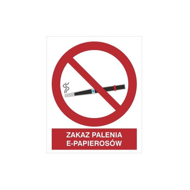 Zakaz palenia e-papierosów (209-20)