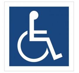 Miejsce dla inwalidów na...