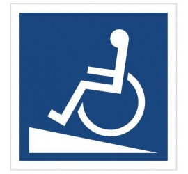 Podjazd dla wózków inwalidzkich (820-04)