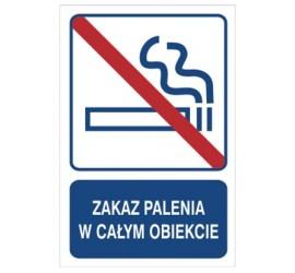 Zakaz palenia w całym obiekcie (823-105)