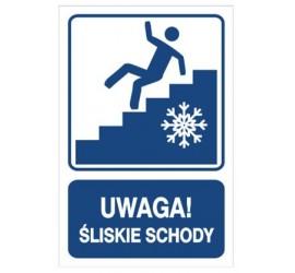 Uwaga! Śliskie schody (823-113)
