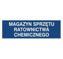 Magazyn sprzętu ratownictwa chemicznego (801-144)