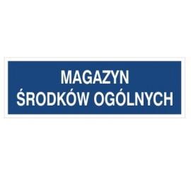 Magazyn środków ogólnych (801-149)