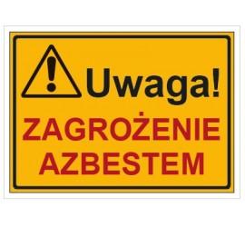 Uwaga! Zagrożenie azbestem (319-74)