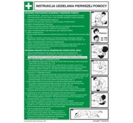 Instrukcja BHP ABC pierwszej pomocy (obrazkowo-tekstowa)