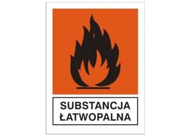 Substancja łatwopalna (700-18)