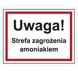 Uwaga! Strefa zagrożenia amoniakiem (815-09)