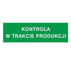 Kontrola w trakcie produkcji (802-10)