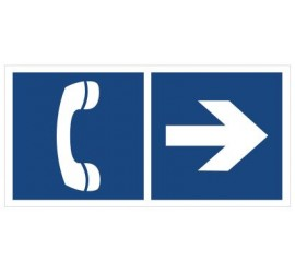 Telefon (kierunek w prawo) (865-04)