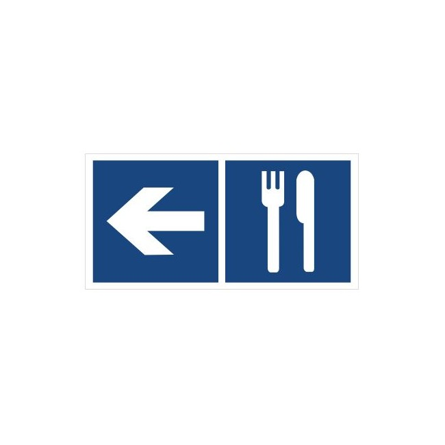 Restauracja (kierunek w lewo) (865-11)