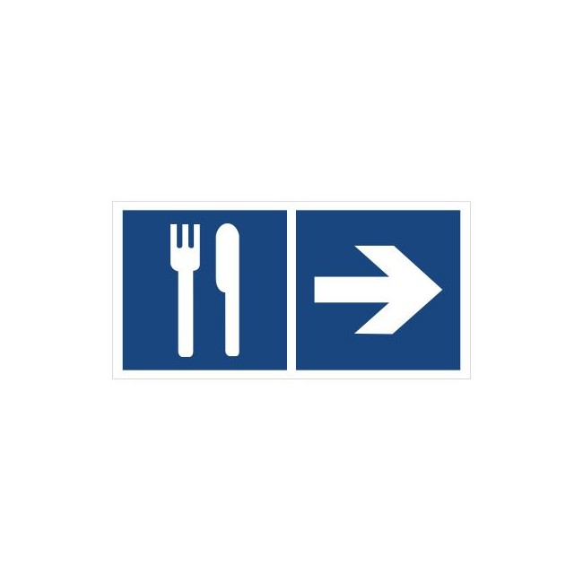 Restauracja (kierunek w prawo) (865-12)