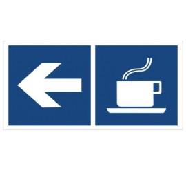 Kawiarnia (kierunek w lewo) (865-15)