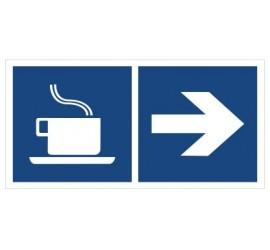 Kawiarnia (kierunek w prawo) (865-16)