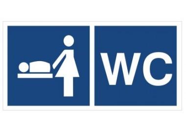 Przewijalnia dzieci, WC (865-31)