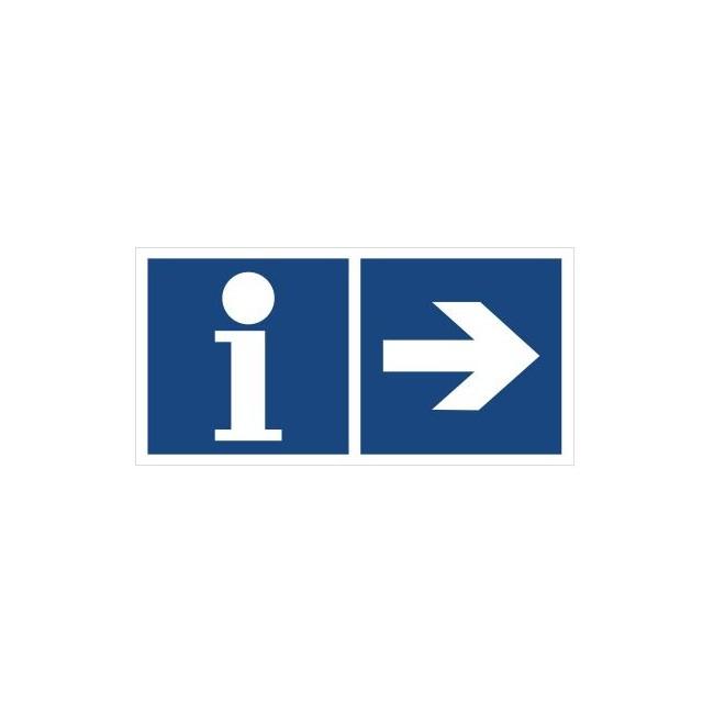 Informacja (kierunek w prawo) (865-36)