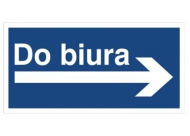 Do biura (kierunek w prawo) (865-38)