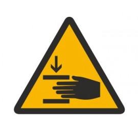 Znak ostrzeżenie przed zgnieceniem dłoni (327)