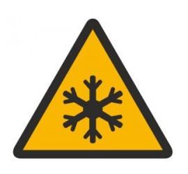 Znak ostrzeżenie przed niską temperaturą (328)