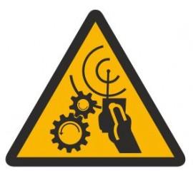 Znak uwaga! Urządzenie zdalnie sterowane (329)
