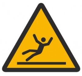 Znak ostrzeżenie przed śliską powierzchnią (335)