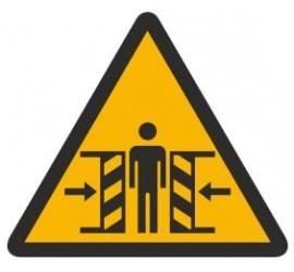 Znak ostrzeżenie przed zgnieceniem (339)