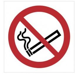 Znak zakaz palenia tytoniu (P02)
