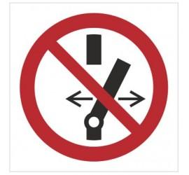 Znak nie przełączaj (P31)