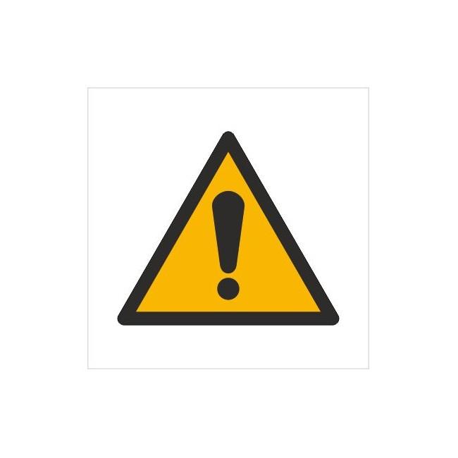 Znak ogólny znak ostrzegawczy (W01)