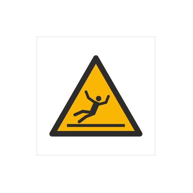 Znak ostrzeżenie przed śliską nawierzchnią (W11)