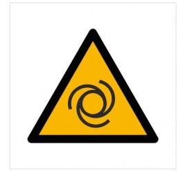 Znak ostrzeżenie przed automatycznym uruchamianiem się (W18)