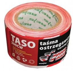 Taśma ostrzegawcza dwustronna Reis TASO200-3 CW 200m