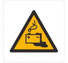 Znak ostrzeżenie przed ładowaniem baterii (W26)