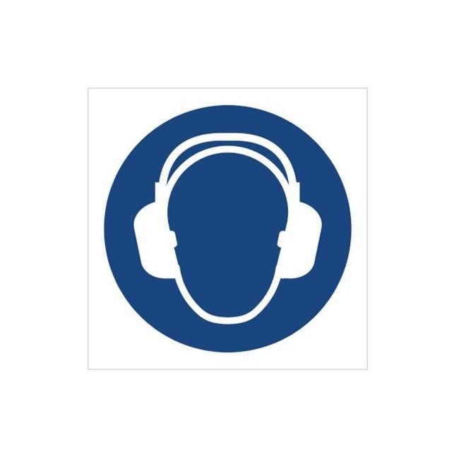 Znak nakaz stosowania ochrony słuchu (M03)
