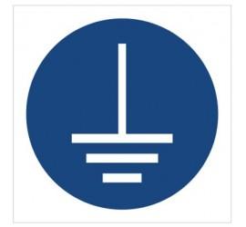 Znak nakaz podłączenia uziemienia (M05)