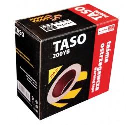 Taśma ostrzegawcza dwustronna Reis TASO200 YB 200m