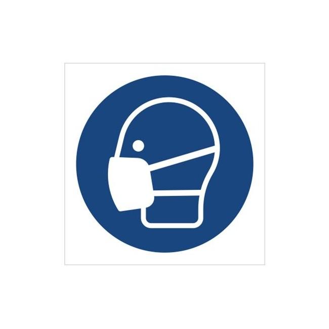 Znak nakaz stosowania maski przeciwpyłowej (M16)