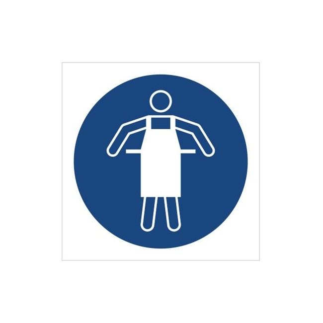 Znak nakaz stosowania fartucha ochronnego (M26)