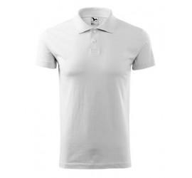 Koszulka polo Adler SINGLE J. 202 biała