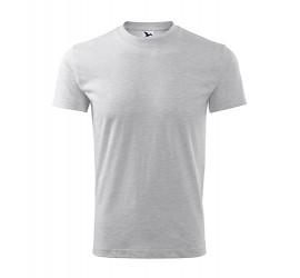 T-shirt Adler CLASSIC 101 jasnoszary melanż