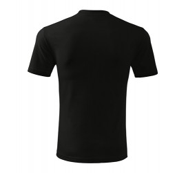 T-shirt Adler CLASSIC 101 czarny