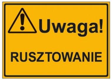 UWAGA! RUSZTOWANIE (319-21)