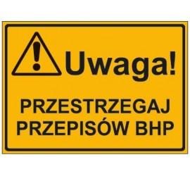 UWAGA! PRZESTRZEGAJ PRZEPISÓW BHP (319-25)