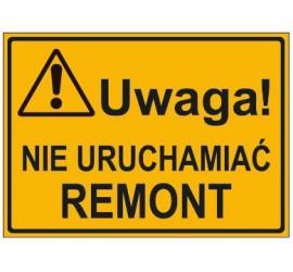 UWAGA! NIE URUCHAMIAĆ REMONT (319-60)