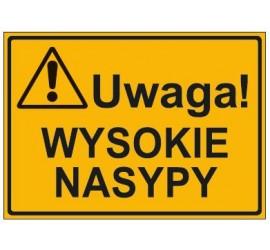 UWAGA! WYSOKIE NASYPY (319-64)